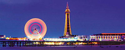 Supported holidays at Blackpool