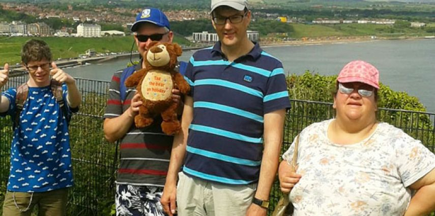 Morley Care Supported Holidays in Scarborough 2017