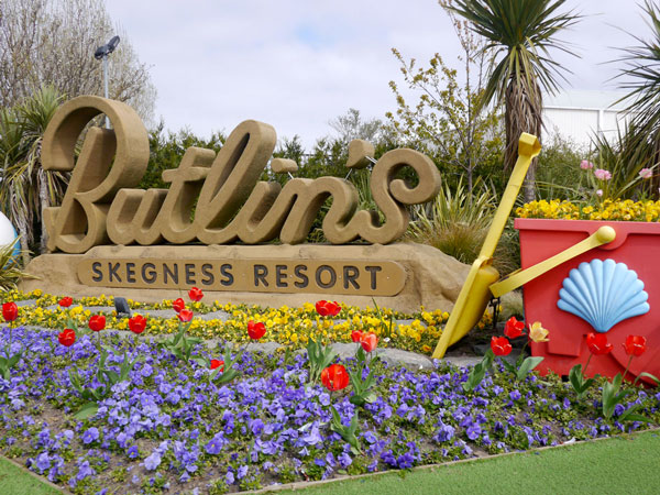 Supported Holidays at Butlins, Skegness resort