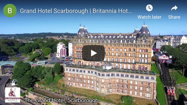 Take a peek at The Grand Hotel, Scarborough